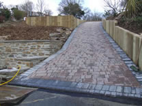 Mr and Mrs Kharne Drive Way Project - Radlett